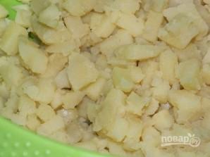 Салат из фасоли консервированной - фото шаг 4