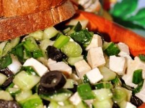 Жиросжигающий салат - фото шаг 4