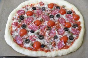 "Пицца ""Пикантная"" - фото шаг 10"