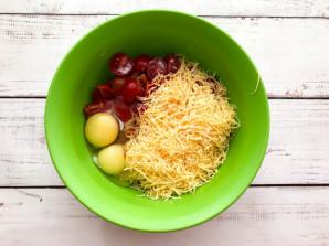 Картофельный киш с ветчиной и сыром - фото шаг 5
