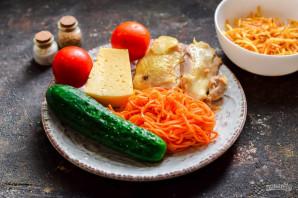 """Салат """"Муравейник"""" с корейской морковью - фото шаг 1"""