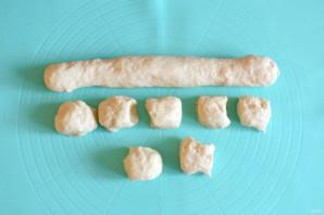 """Тонкие пирожки с картошкой """"Крестьянские"""" - фото шаг 11"""