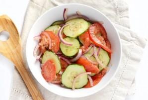 Салат из простых продуктов - фото шаг 4