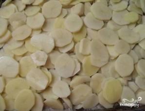 Фарш с картошкой в духовке - фото шаг 5