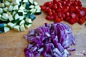 Тушеные кабачки с помидорами - фото шаг 1
