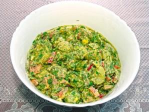 Картофельный салат с тунцом - фото шаг 9