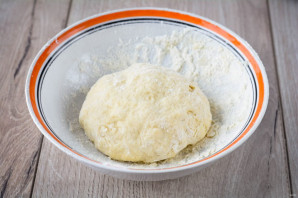 Тесто для пиццы на йогурте - фото шаг 6