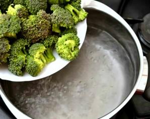 Суп-пюре из брокколи и шпината - фото шаг 1