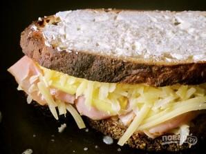 Сэндвич с ветчиной и ананасами - фото шаг 7