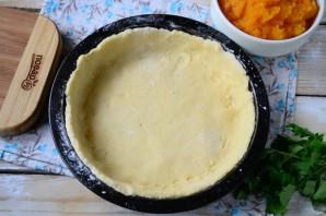 Тыквенный пирог с беконом - фото шаг 5