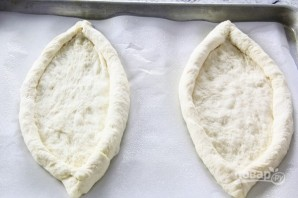 Хачапури по-грузински с сыром - фото шаг 8