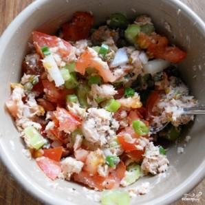 Салат из консервированной горбуши - фото шаг 4