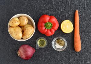 Картошка в рукаве с овощами - фото шаг 1