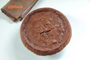 Шоколадный листовой торт с цуккини - фото шаг 10