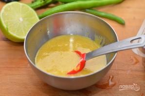 Вкусный салат с фасолью - фото шаг 1