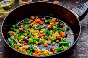 Рисовая лапша с овощами по-китайски - фото шаг 2