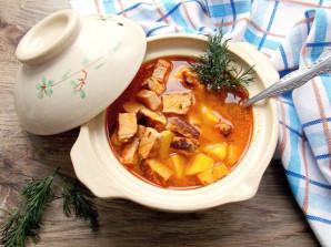 Суп из шашлыка - фото шаг 8
