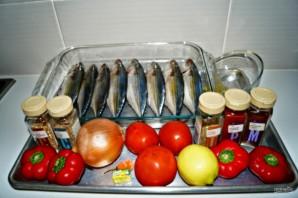 Макрель в духовке - фото шаг 1