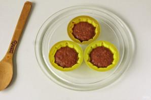 Кексы в микроволновке в силиконовых формочках - фото шаг 6