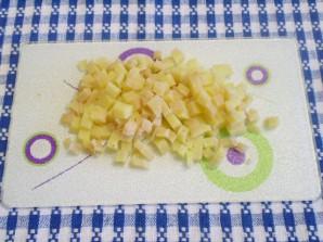 Салат к мантам - фото шаг 6