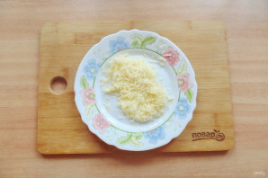 Салат с куриной печенью и маринованными огурцами - фото шаг 8