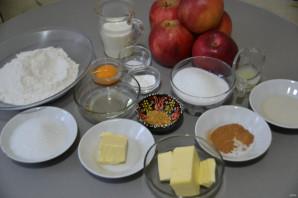 """Яблочный пирог """"Вуаль невесты"""" - фото шаг 1"""