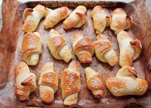 Рогалики в хлебопечке - фото шаг 11