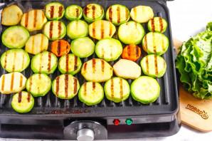 Овощи на электрогриле - фото шаг 6