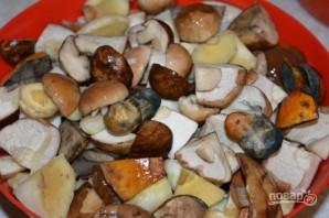 Соленые белые грибы - фото шаг 2