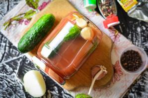 Огурцы маринованные с кетчупом на зиму - фото шаг 6