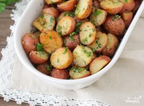 Картофель, запеченный с травами - фото шаг 8