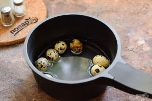 Салат с авокадо и перепелиными яйцами - фото шаг 2
