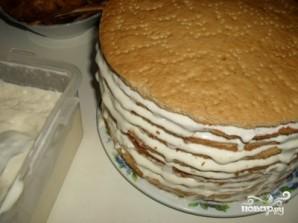"""Торт """"Наполеон"""" медовый - фото шаг 4"""