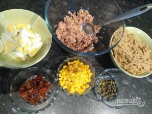 Салат с макаронами - фото шаг 1