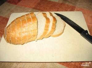 Бутерброды с яйцом и чесноком - фото шаг 1