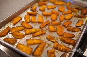 Запеченный сладкий картофель - фото шаг 3