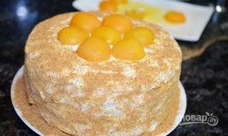 Торт бисквитный - фото шаг 14