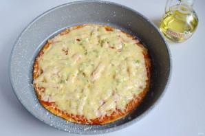 Пицца на сырном тесте - фото шаг 8