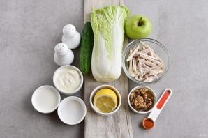 Салат с китайской капустой - фото шаг 1