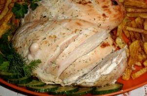 Диетическая куриная грудка в духовке - фото шаг 5