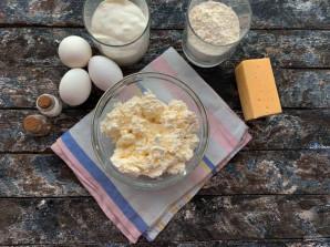 Ленивые хачапури в духовке - фото шаг 1