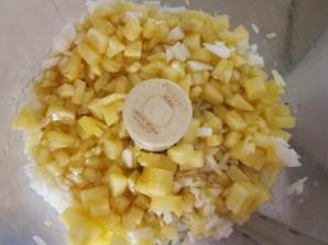 Торт с кусочками ананаса - фото шаг 6