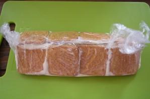 Домик из печенья - фото шаг 7