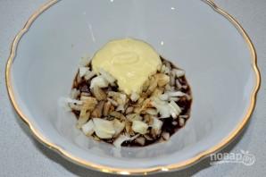 Скумбрия, запеченная в горчично-соевом соусе - фото шаг 5
