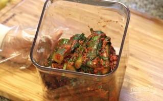 Кимчи с огурцом - фото шаг 6