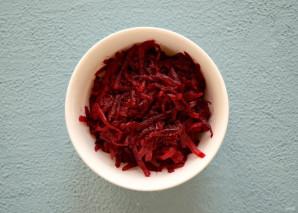 Розовый рис - фото шаг 4
