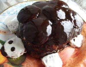 "Торт ""Черепаха"" рецепт классический - фото шаг 12"