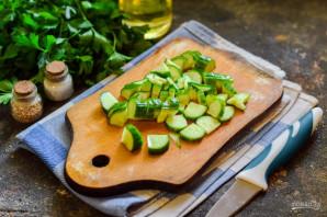 Салат с булгуром и тунцом - фото шаг 3