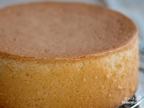 Торт в виде Миккимауса - фото шаг 1