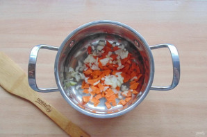 Гречка со шпинатом - фото шаг 3